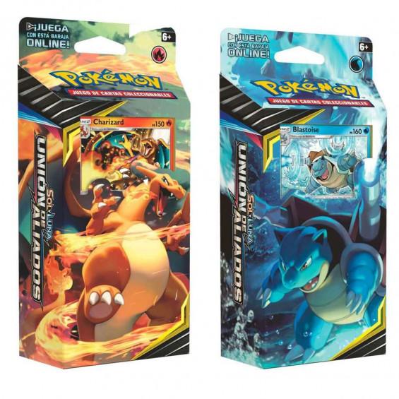 Pokémon Sol y Luna Baraja Unión de Aliados Varios Modelos