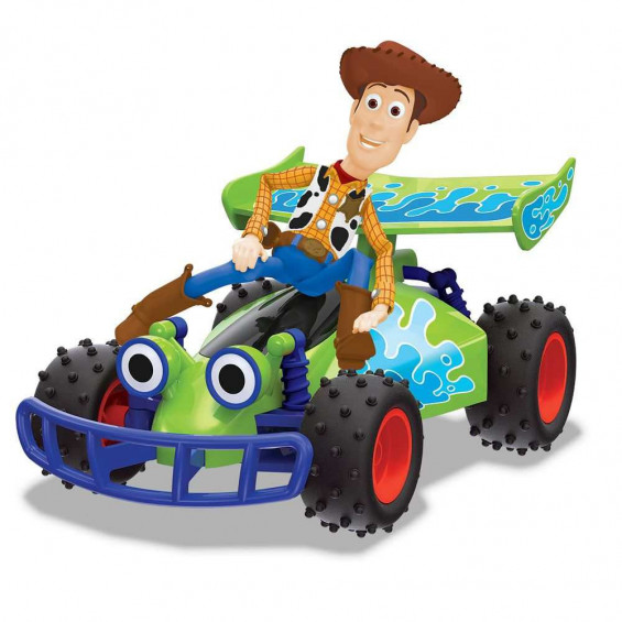 Toy Story Radio Control Buggy con Woody 1:24