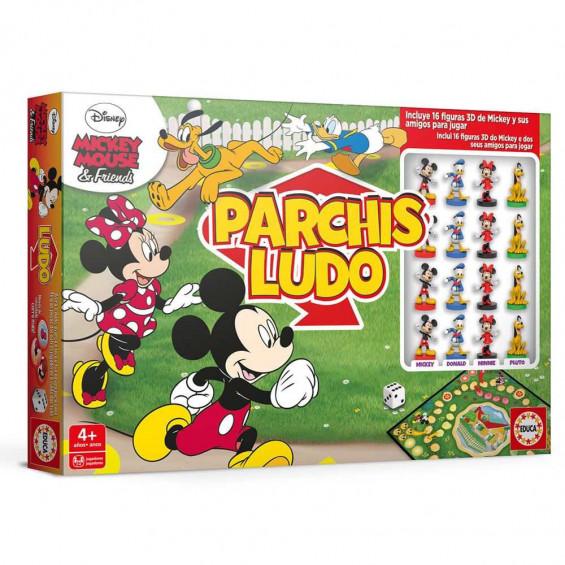 Mickey y Amigos Parchís Figuras 3D