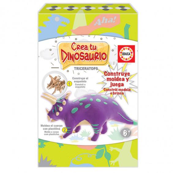 Crea y Modela tu Triceratops