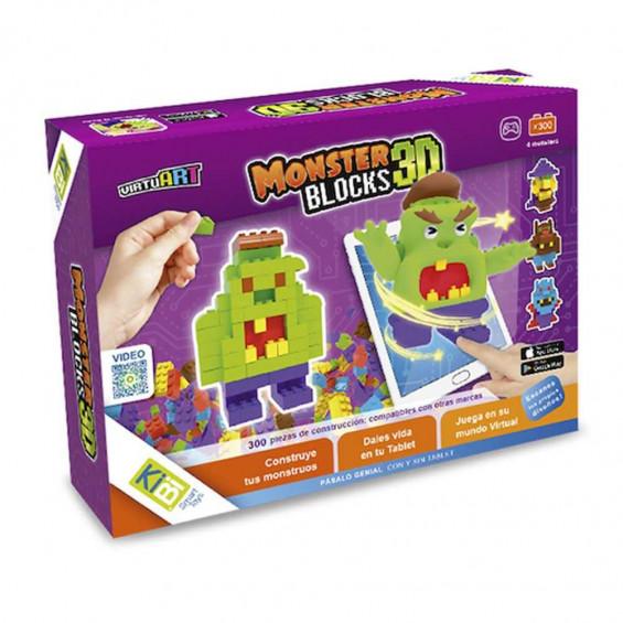 KIBI Virtuart Monsters 3D Blocks