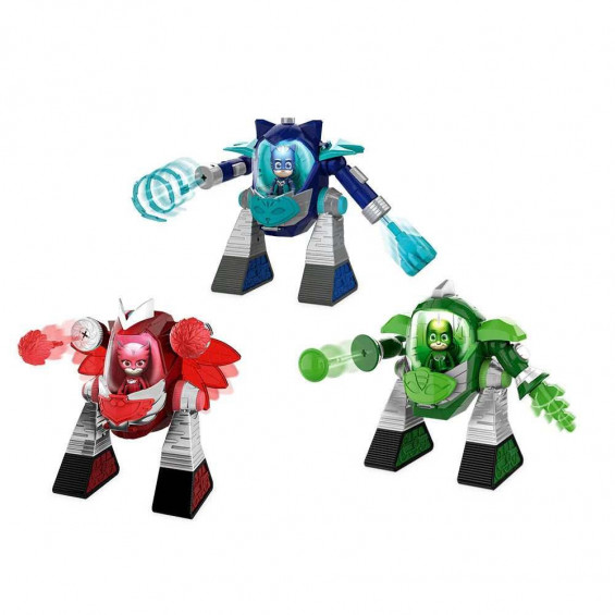 PJ Mask Robot Turbo Movers Varios Modelos