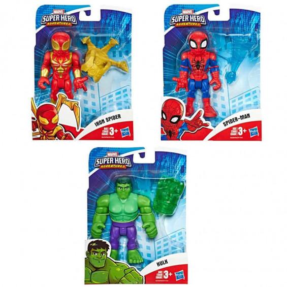 Marvel Super Hero Adventures Figura Mini Varios Modelos