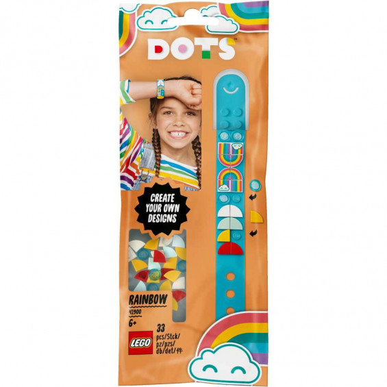 LEGO Dots Pulsera Arcoiris - 41900