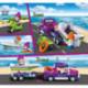 Juguettos Construcción Vehículos de Recreo 205 Piezas