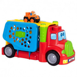 Nenittos Camión Portacoches con 1 Coche con Luz y Sonido