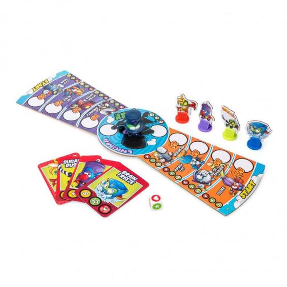 Superthings Juego de Mesa Enigma Battle Game