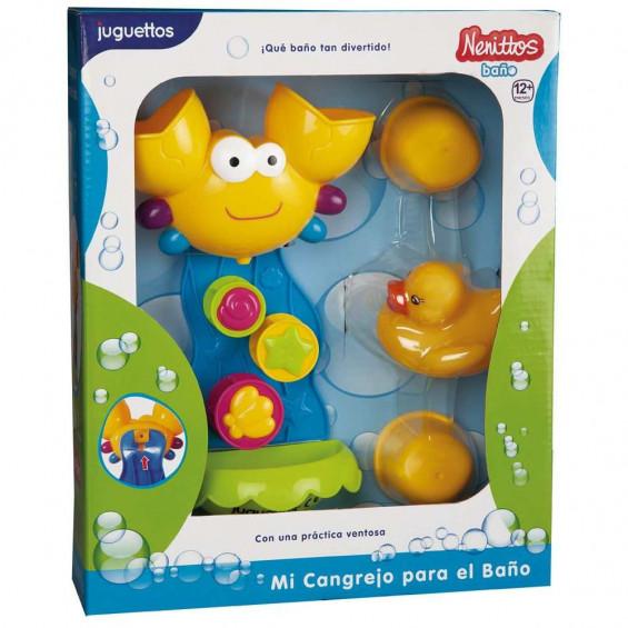 Nenittos Mi Cangrejo para el Baño