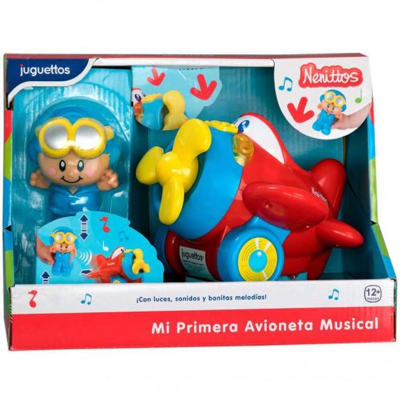 Nenittos Mi Primera Avioneta Musical