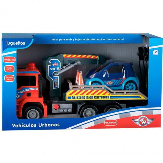 4R Vehículo Urbano Camión Grua Rueda Libre