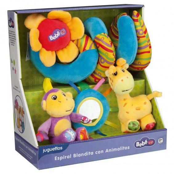 Bebé Vip Espiral Blandita con Animalito Varios Modelos
