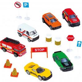 4R Colección 6 Vehículos en Mochila