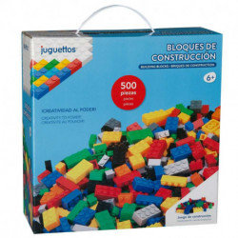 Juguettos Bloques de Construcción 500 Piezas