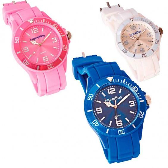 Juguettos Reloj Analógico Varios Colores