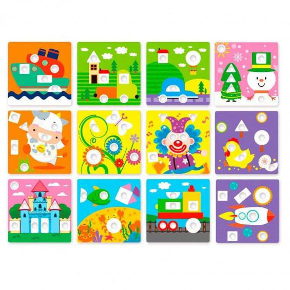 Nenittos Mi Mosaico Figuras Geométricas