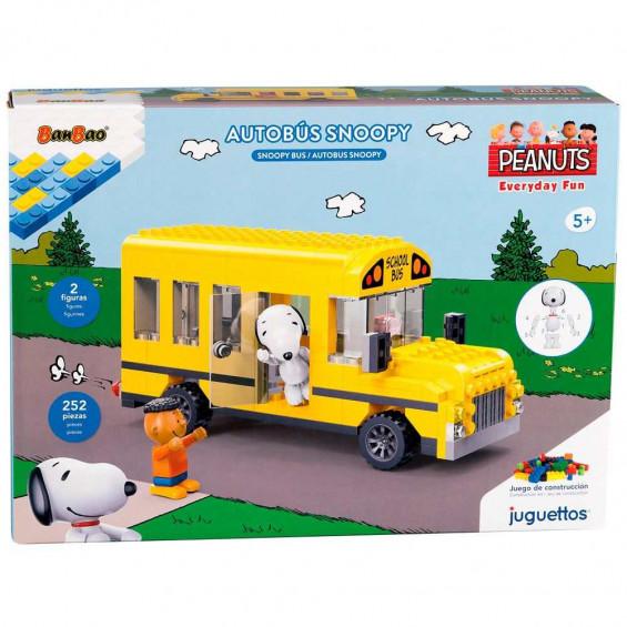 Juguettos Construcción Snoopy Autobús 252 Piezas