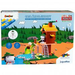 Juguettos Construcción Snoopy Casa Árbol 194 Piezas