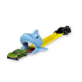 4R Mini Pista Tiburón con Lanzador y 3 Coches