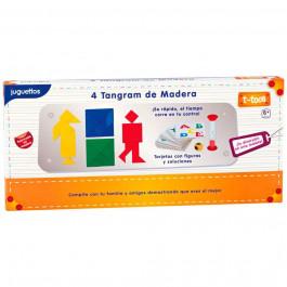 T-Toca 4 Tangram de Madera