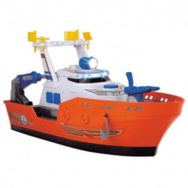 4R Barco de Rescate con Luz y Sonido