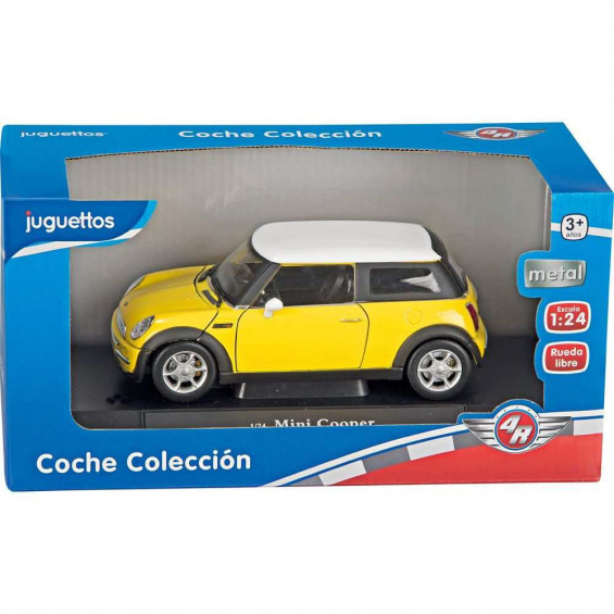 4R Coche Rueda Libre Colección Metalico 1:24 Varios Modelos