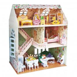Manualidedos Puzzle 3D Casa de Muñecas