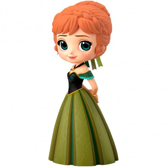 Q Posket Figura Disney Princess Anna Coronación