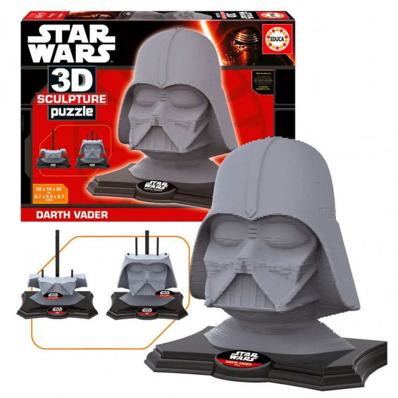 Puzzle Adulto 3D Sculpture  Darth Vader