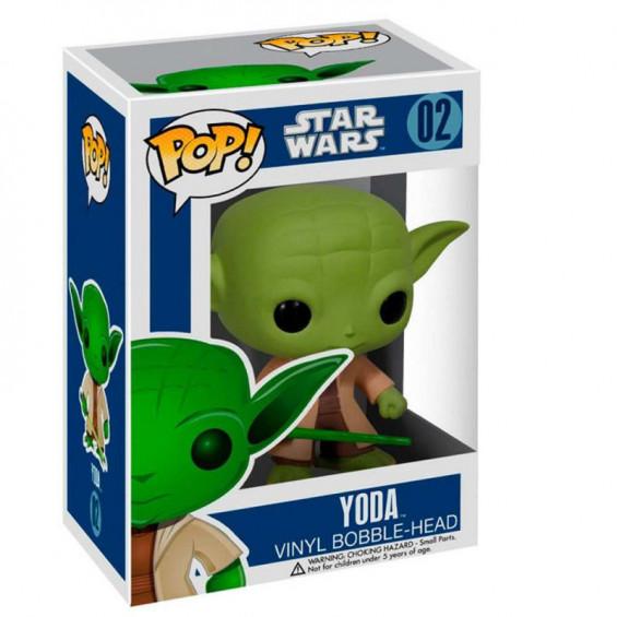 Funko Pop! Star Wars Figura de Vinilo Yoda