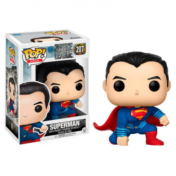 Funko pop! Heroes DC Liga de la Justicia Figura de Vinilo Superman