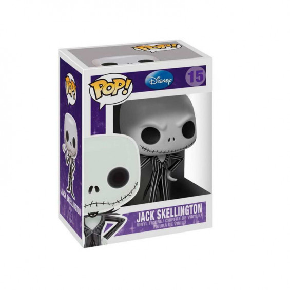 Funko Pop! Disney Figura de Vinilo Jack Skeleton