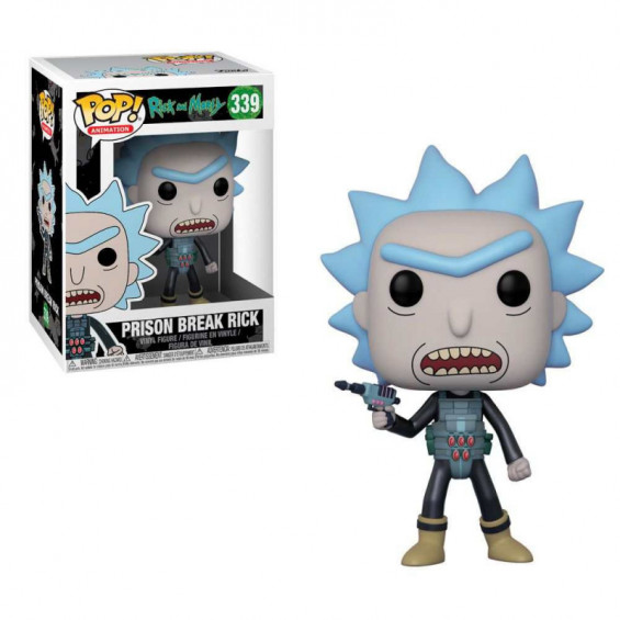Funko Pop! Animation Rick & Morty Figura de Vinilo Prision Break Rick