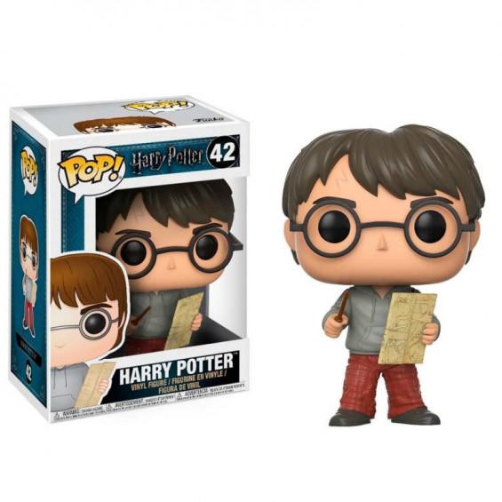 Funko Pop! Harry Potter Figura de Vinilo Harry Potter con Mapa del Merodeador