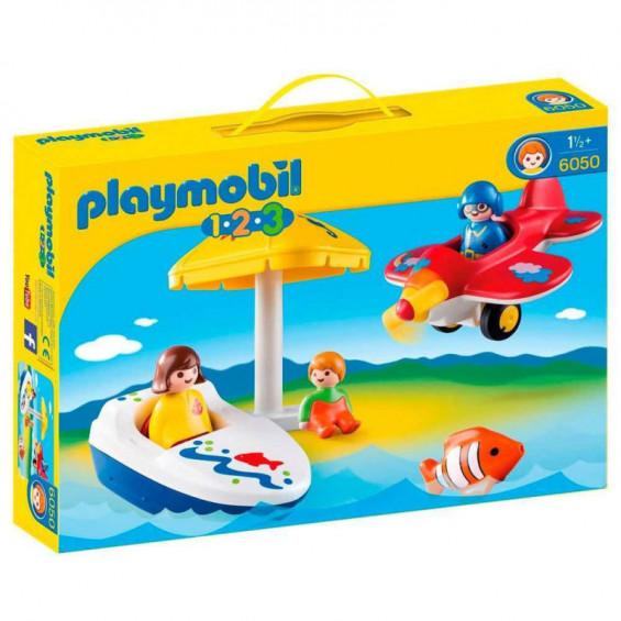 Playmobil 1.2.3. Diversión en Vacaciones - 6050