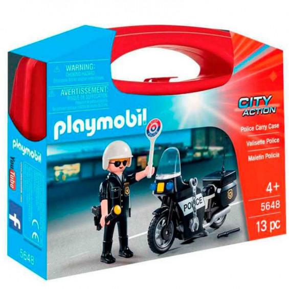 Playmobil City Action Maleín Policía - 5648