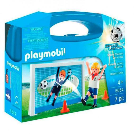 Playmobil Sports & Action Maletín Fútbol - 5654