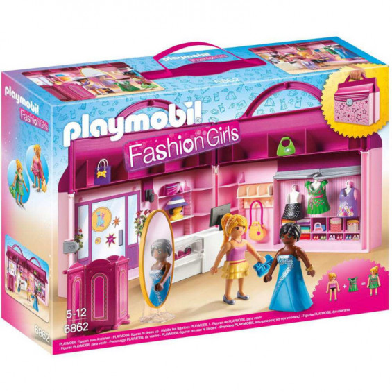 Playmobil Fashion Girls Tienda de Moda Maletín - 6862