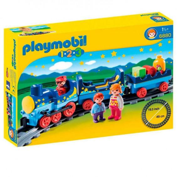 Playmobil 1.2.3 Tren con Vías - 6880