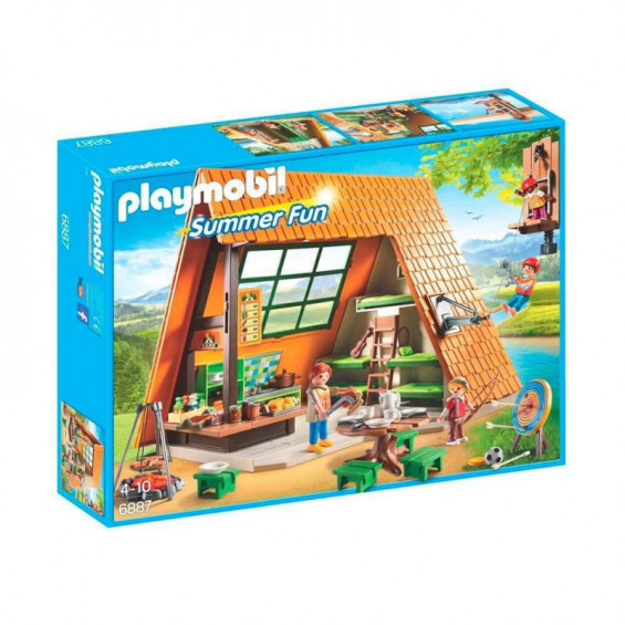 Playmobil Summer Fun Cabaña de Campamento - 6887