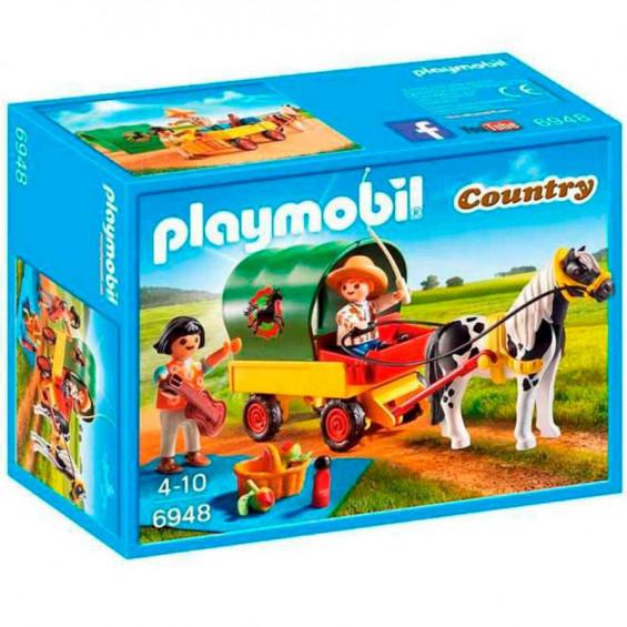 Playmobil Country Picnic con Poni y Carro - 6948