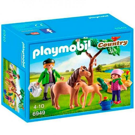 Playmobil Country Veterinario con Ponis - 6949