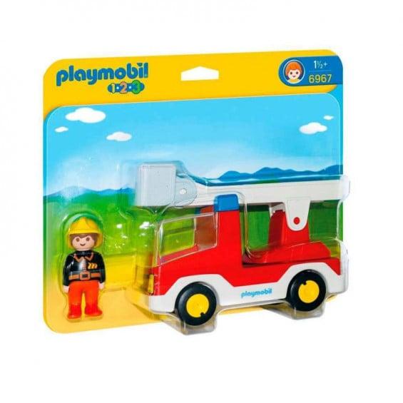 Playmobil 1.2.3 Camión de Bombero - 6967