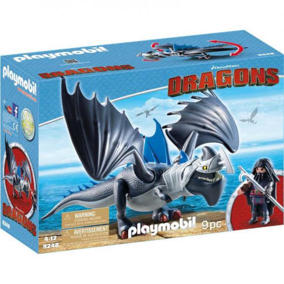 Playmobil Dragons Drago y Dragón con Armadura - 9248