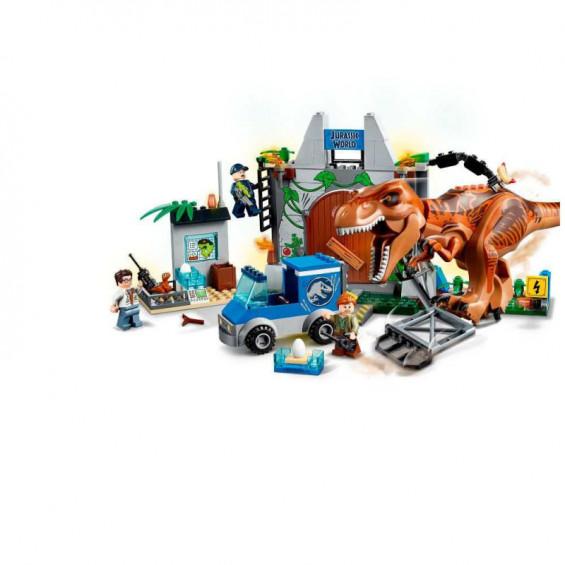LEGO Juniors Jurassic Fuga del T-Rex - 10758