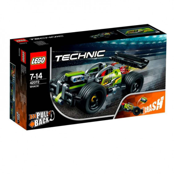 LEGO Technic ¡Golpea! - 42072