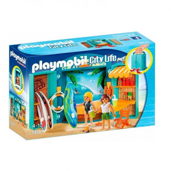 Playmobil City Life Cofre Tienda Surf - 5641