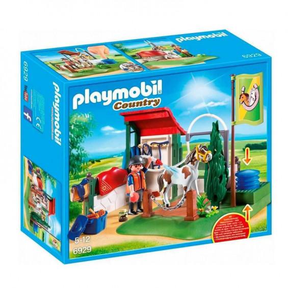 Playmobil Country Set de Limpieza para Caballos - 6929