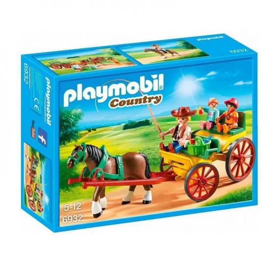 Playmobil Country Carruaje con Caballo - 6932