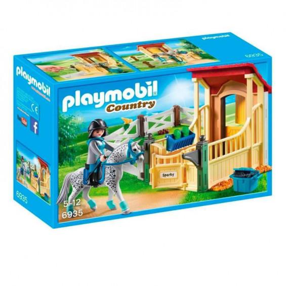 Playmobil Country Caballo Appalosa con Establo - 6935