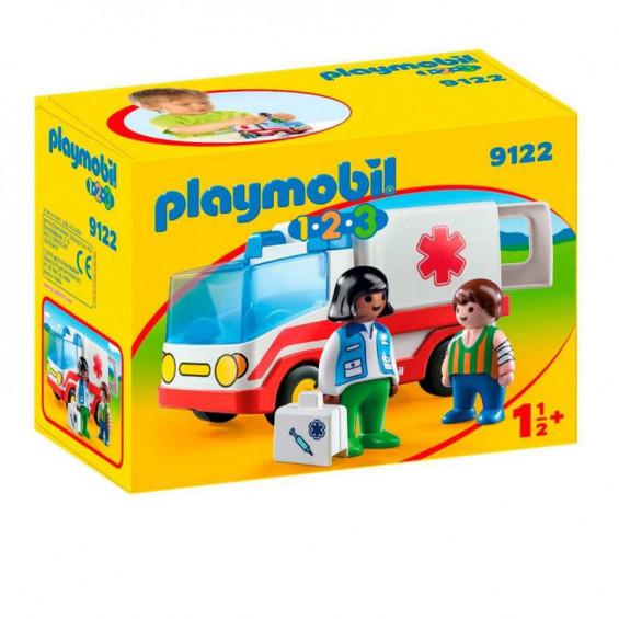 Playmobil 1.2.3 Ambulancia - 9122